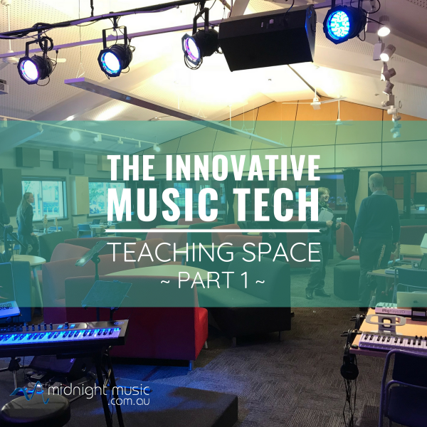 The Innovative Music Tech Teaching Space with Brad Fuller part 1