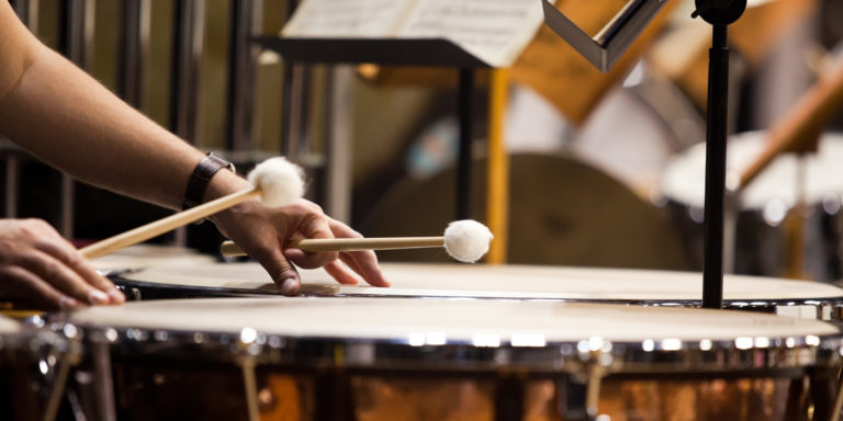 Keeping Percussion Students Involved